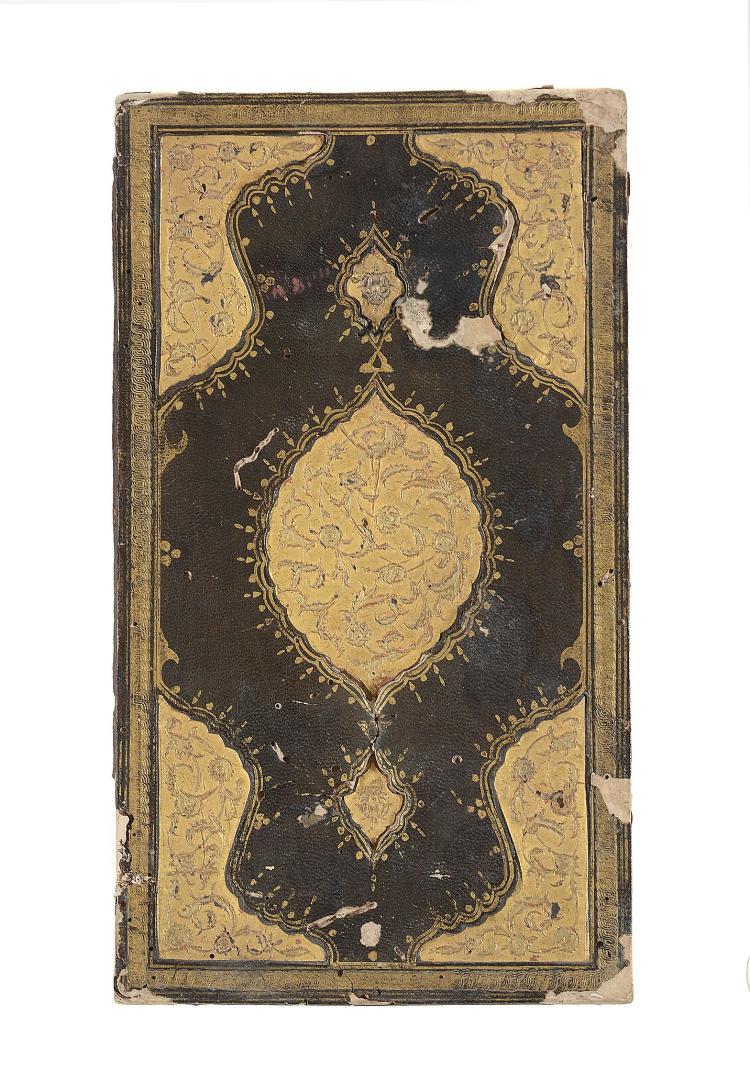 An Ottoman lacquer book binding, 17th/ 18th century