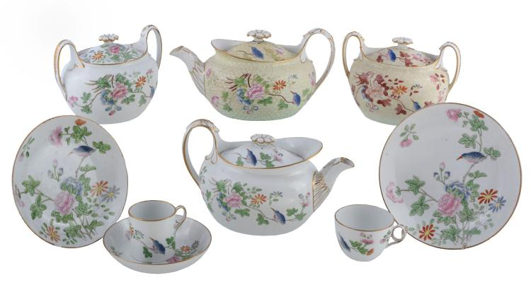 A selection of Wedgwood bone china with three versions of the 'Cuckoo