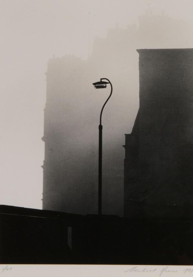 Michael Kenna (b.1953) - Lamp, Bath, Devon, 1987