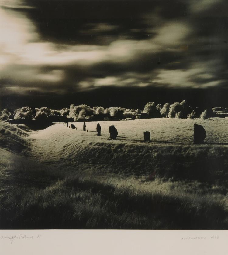 Greenhalf and Pollard - Imagination, Avebury Henge, Wiltshire, 1990s