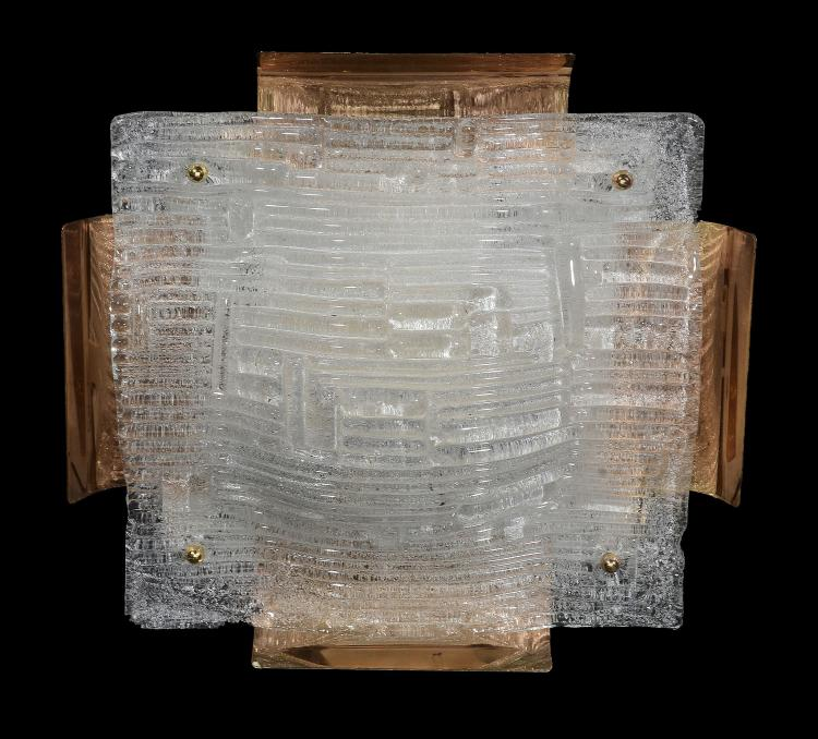 A Kalmar flush mounted ceiling light, 1960s