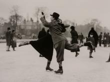 H.F. Davies (active 1920s-40s) - Dancing on Ice, 1933