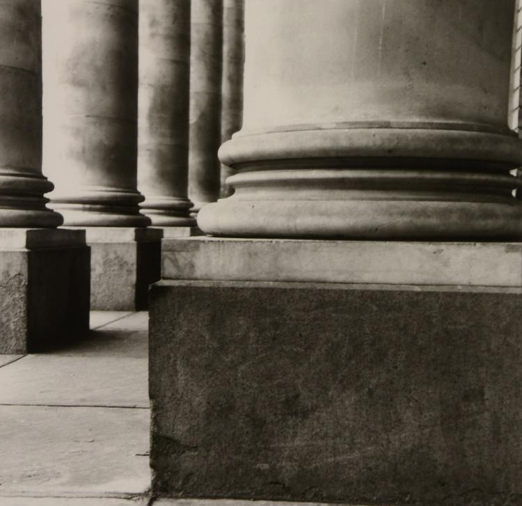 Anthony Jones (b. 1962) - Columns Royal Exchange, 1990s