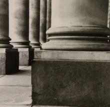 Anthony Jones (b. 1962) - Columns Royal Exchange, 1990s