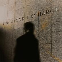Anthony Jones (b. 1962) - Stock Exchange Shadow, 1990s