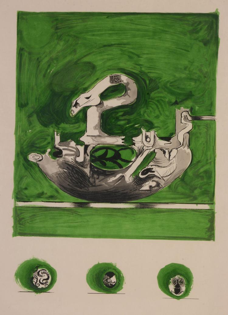 Graham Sutherland, O.M. (1903-1980) - Swan-like form