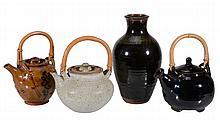 Ray Finch , a Winchcombe Pottery stoneware vase, seal mark, 28