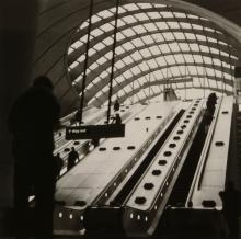 Anthony Jones (b. 1962) - Canary Wharf Station, 1990s