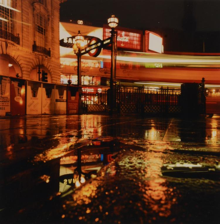 Christiane Zschommler (active since 1990s) - The Tube, Piccadilly, 2000