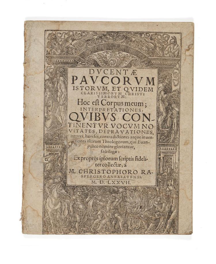Rasperger (Christoph) - Ducentae Paucorum Istorum,