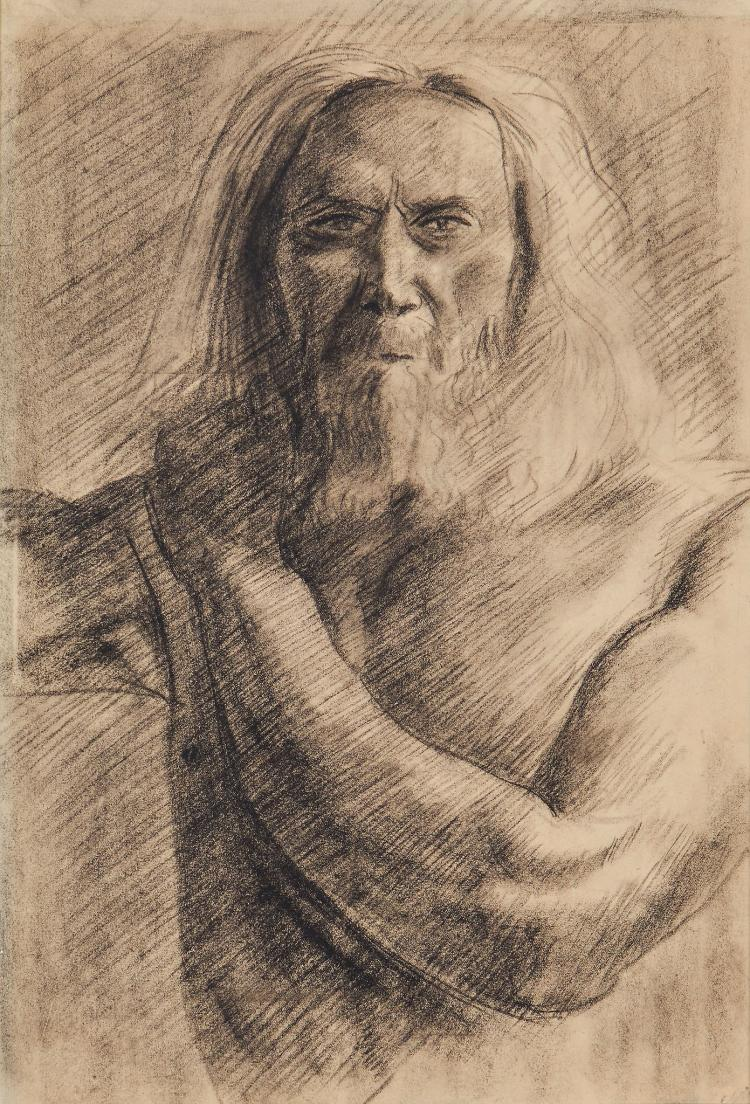 Wood (Christopher) Attributed to. - Study of a man,