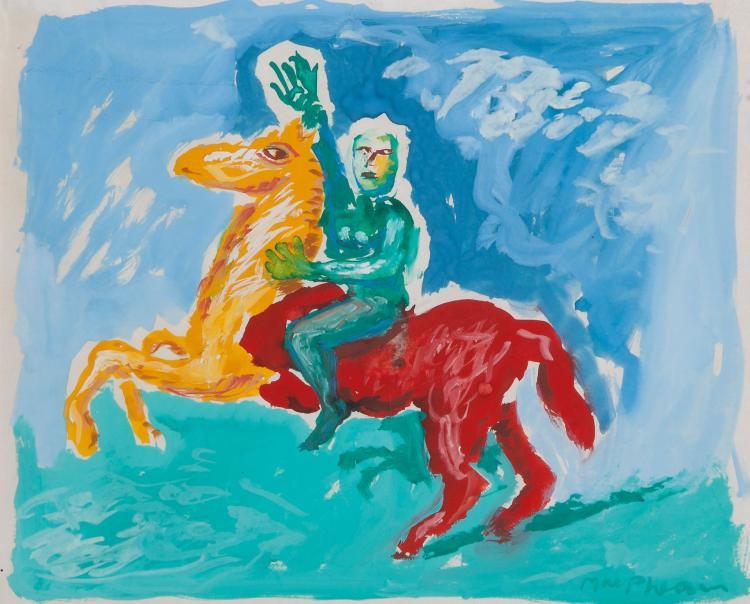 MacPherson (Neil) - Green Horseman