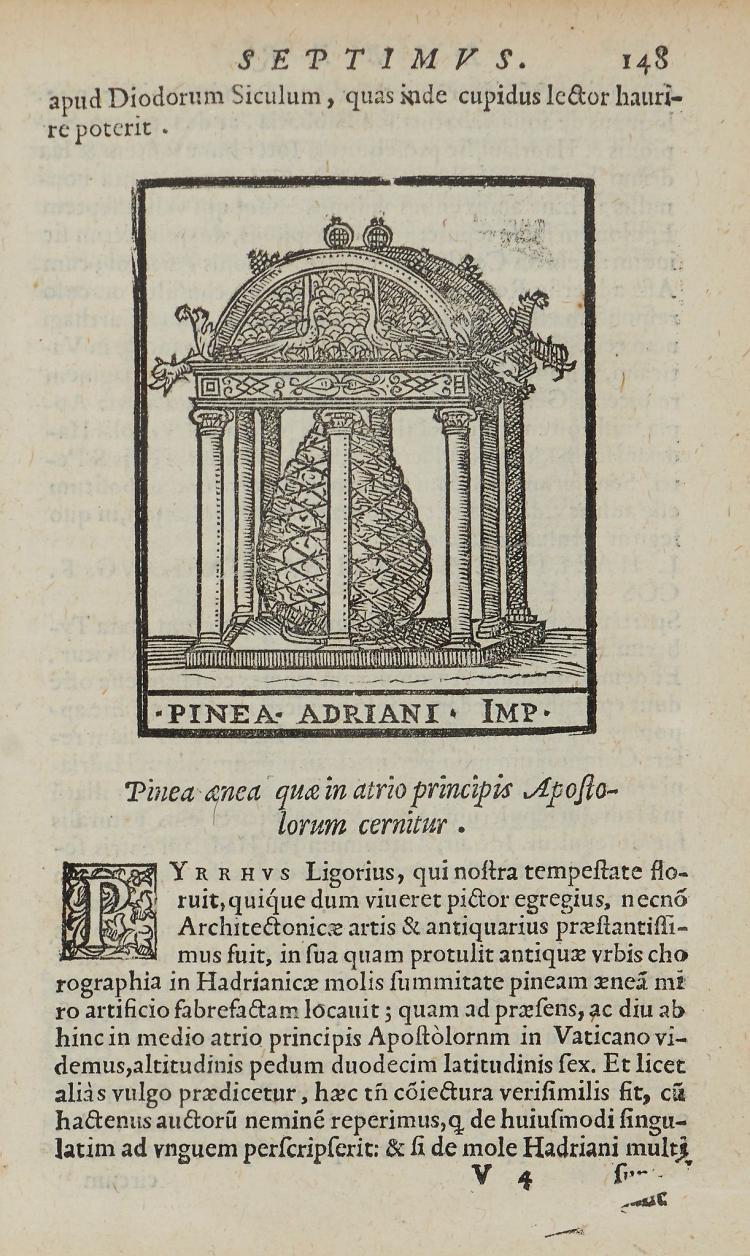 Marliani (Giovanni Bartolomeo) - Urbis Romae Topographia,