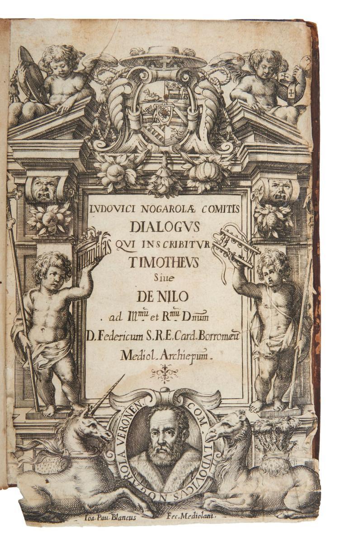 Anthony Blunt.- Nogarola (Ludovic) - Dialogus qui inscribitur Timotheus, sive de Nilo,