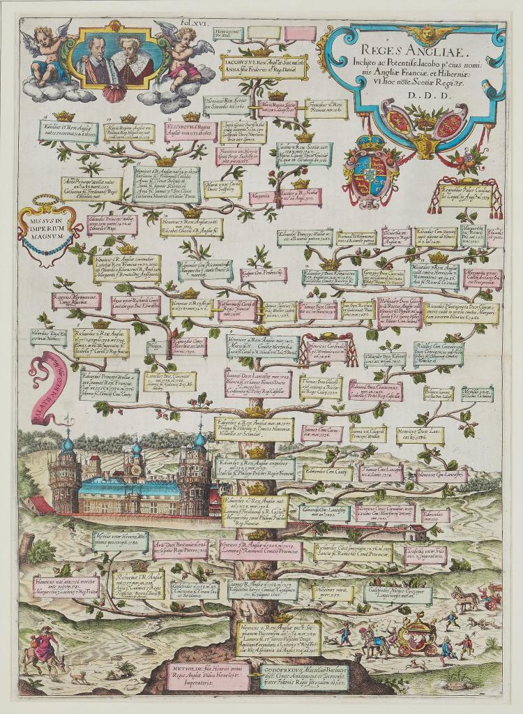 [Albrizzi (Girolamo)] - Reges Angliae Inclijto ac Potentiss. Iacopo...,