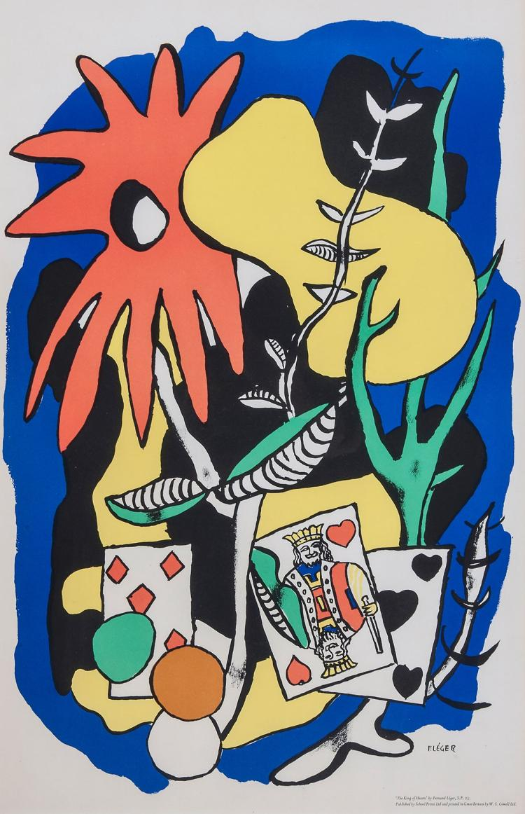 Fernand Leger (1881-1955) - The King of Hearts