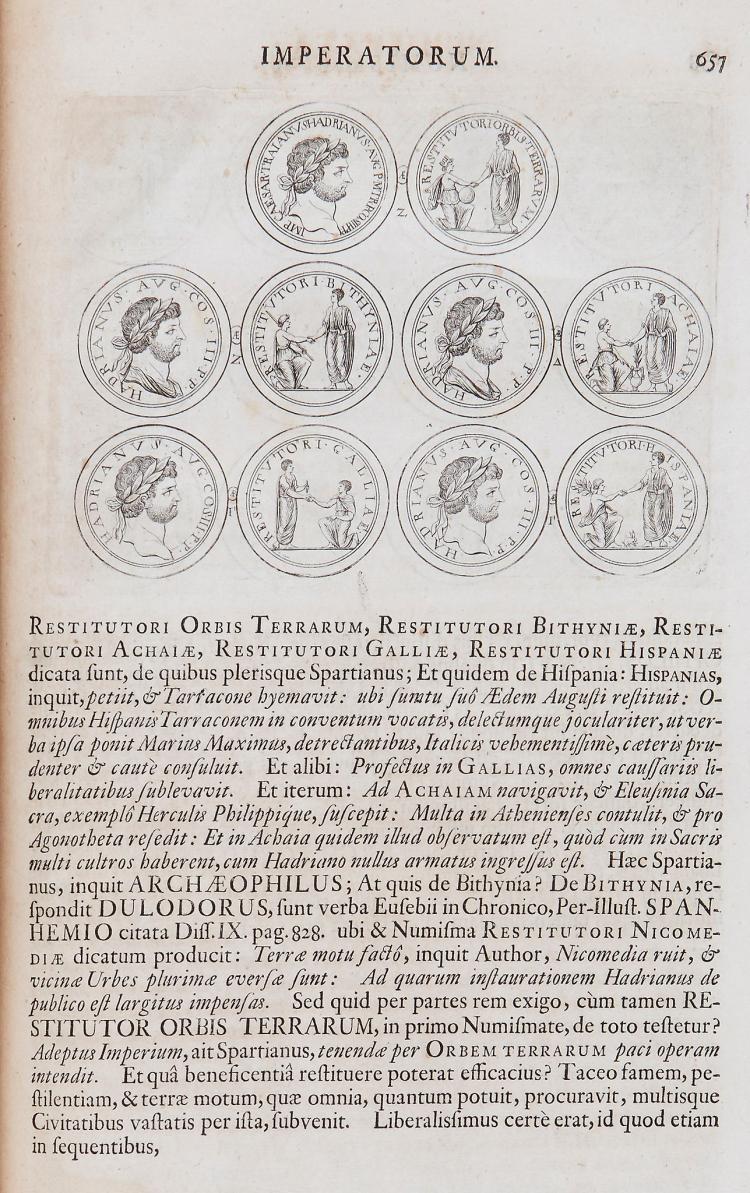 Coins.- Begerus (Laurentius) - Thesauri Electoralis Brandenburgici Continuatio: