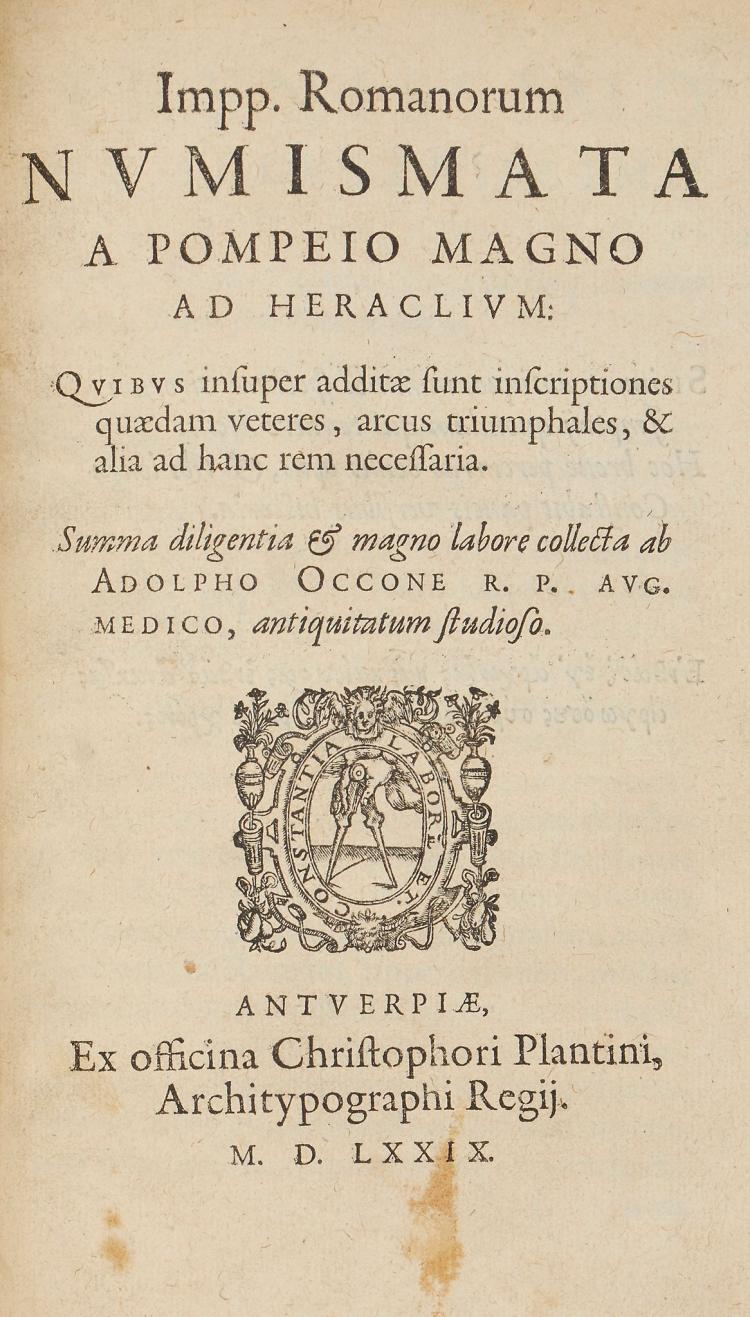 Coins.- Occo (Aolphus) - Impp. Romanorum Numiosmata a