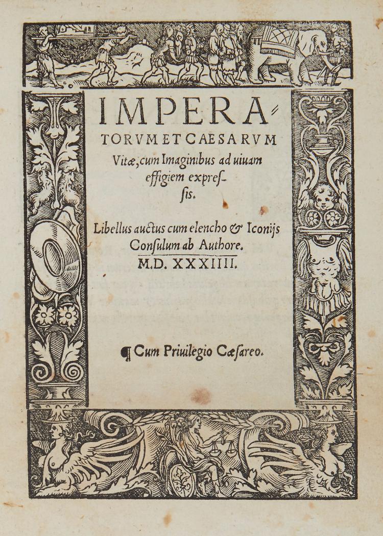 Huttich (Johann) - Imperatorum et Caesarum Vitae,