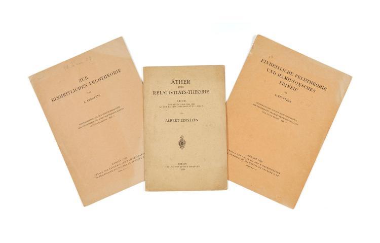 Einstein.- - a bound volume of numbers of Physikalische Zeitschrift