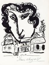 Chagall, Marc - Lithograph signed