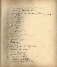 Autograph Album 19th century - 19th century visitor's book with signatures by Charles Kent