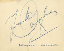 Autograph Albums - Four autograph books with signatures by actors and entertainers
