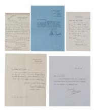 Autograph Collection - Incl. Neville Chamberlain - Collection of autograph letters mostly addressed to Mrs Douglas...