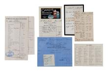 Autograph Collection -19th Century - Letters of Lord Hartington, Henry Cavendish, Gladstone