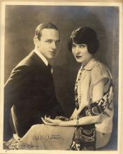 Photograph Albums - Incl. Fred & Adele Astaire - Two albums with photographs signed by actors, music hall stars