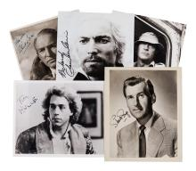 Actors - Collection of signed publicity photographs and movie stills