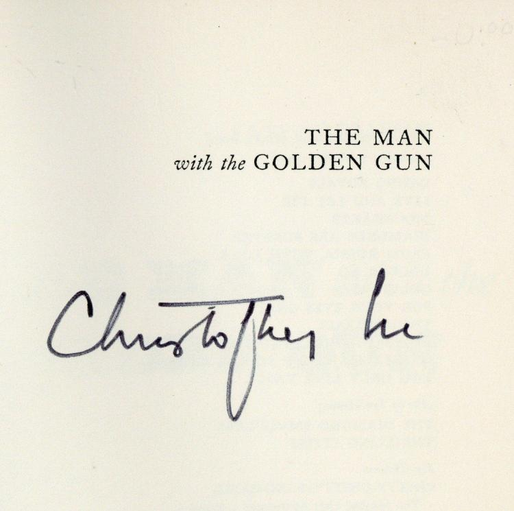Fleming, Lee - Christopher Lee - THE MAN WITH THE GOLDEN GUN, First Edition