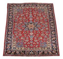 A Tabriz carpet , approximately 310cm x 210cm