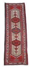 A Sarab runner, approximately 351 x 95cm