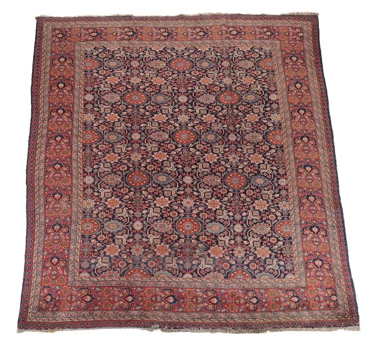 A Tabriz carpet, approximately 375 x 282