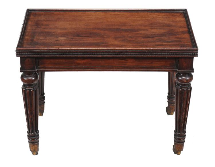A Regency simulated rosewood stand , circa 1815