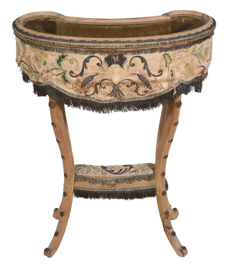 An Edwardian bijouterie table , circa 1910