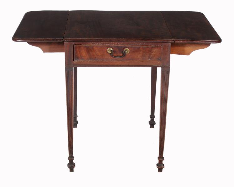 A George III mahogany Pembroke table , circa 1780