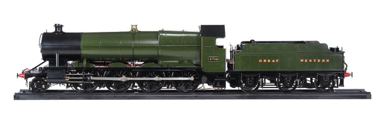 The fine and rare exhibition quality model of a 7 1/4