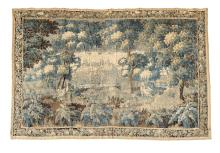 A verdure tapestry, late 17th century, French or Flemish