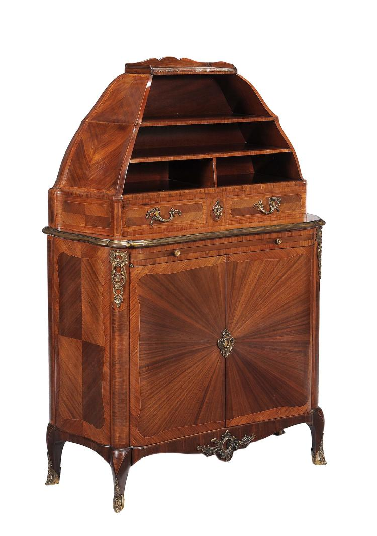 A kingwood and gilt metal mounted cabinet by Maison Krieger , circa 1890