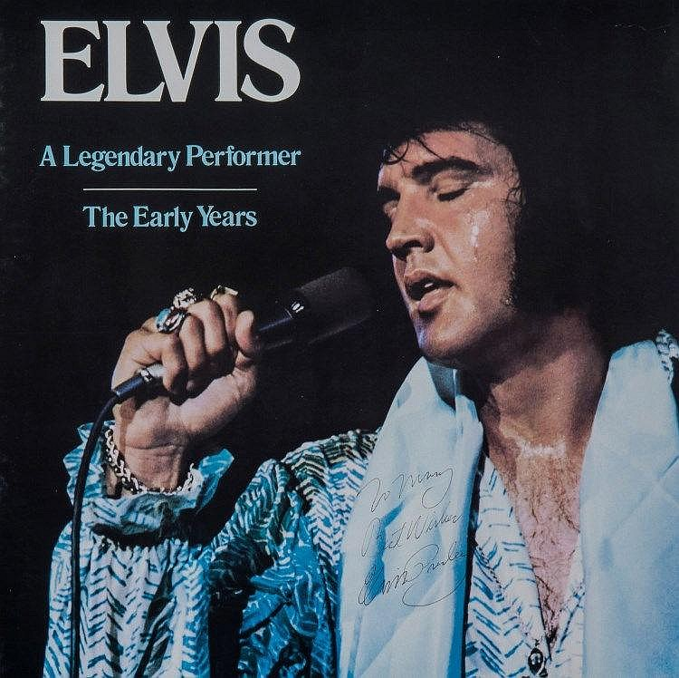 Image result for Elvis-A Legendary Performer vol 1