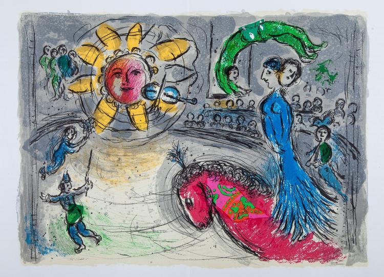 Chagall marc derri re le miroir for Chagall derriere le miroir