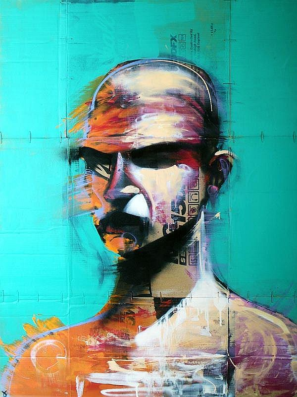 Adam Neate (British, b.1978), Self Portrait, 2007.