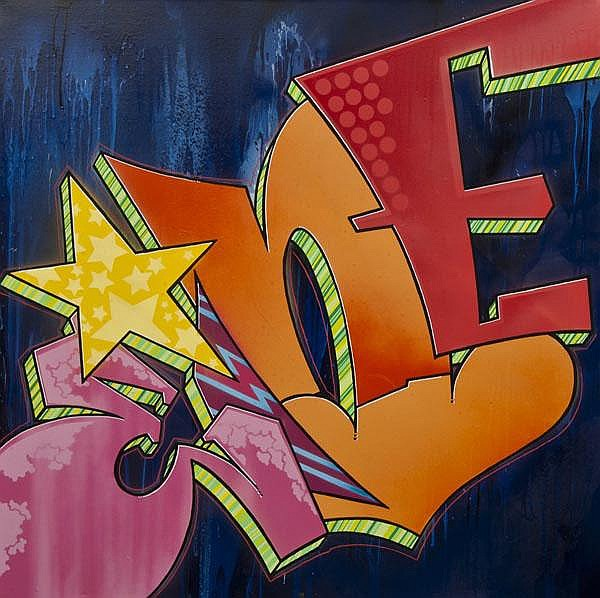 DDS. Eine (British, b.1970) Graffiti, 2006, Spray