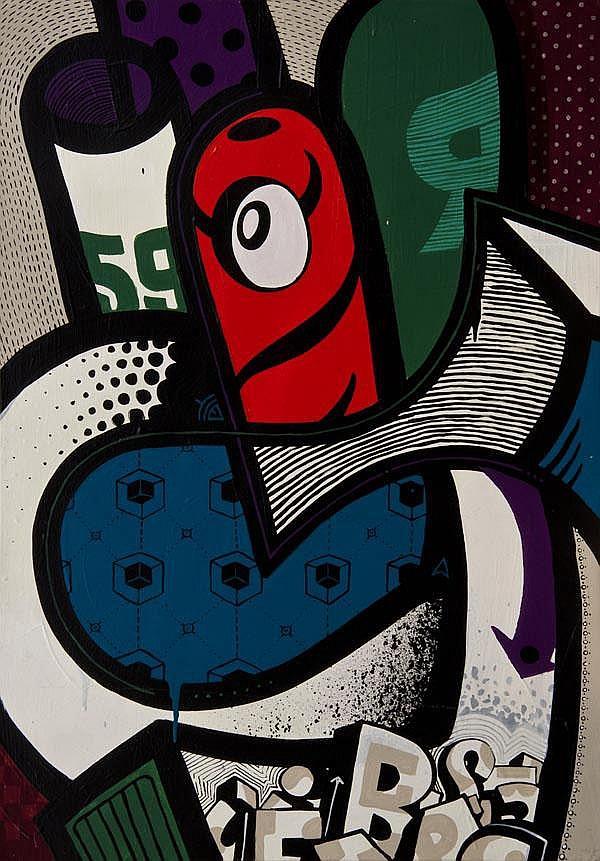Mambo (Flavien Demarigny) (French, b.1969) 59r,
