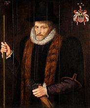 Circle of John de Critz, Portrait of Richard