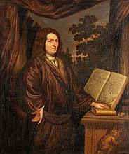 Arnold Houbraken (1660-1719), Portrait of a