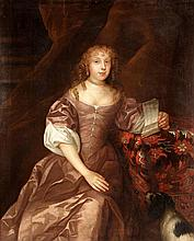 Follower of Willem Wissing, Portrait of a lady,