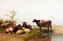 Thomas Sidney Cooper (1803-1902), Cattle and Sheep